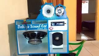 Caixa Trio Independente tocando forte - Deboxe Sound'Car