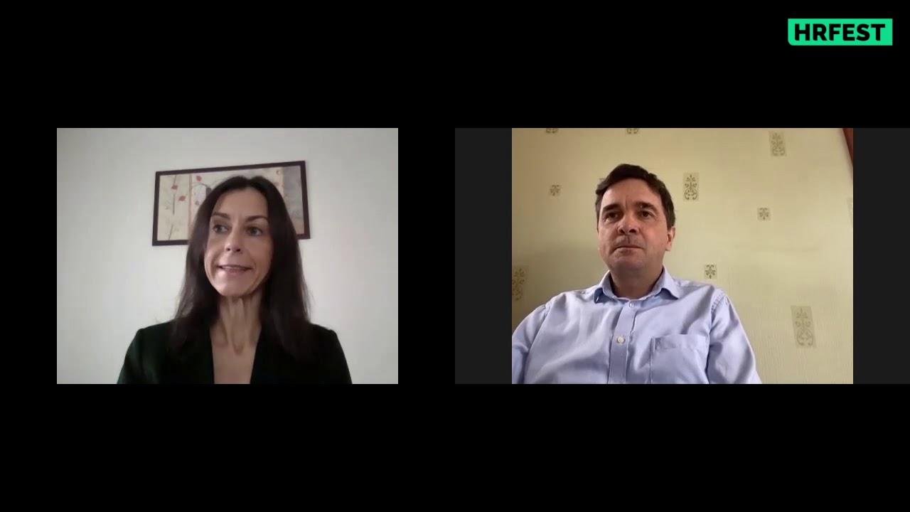 Videó interjú I HR Fest Online I A vállalatok digitális átalakulása a HR támogatásával