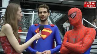Spider-Man & Superman Cosplay Interview