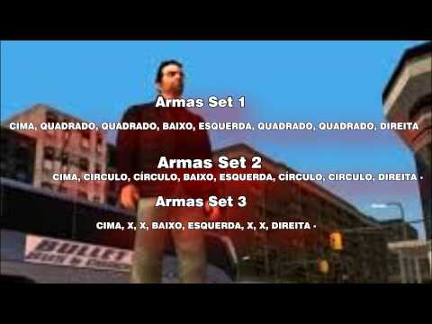 Códigos do GTA Liberty Cite Stories PSP