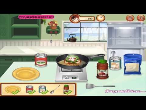 Hamburguesa pizza juegos de cocina para ni a youtube for Ju3gos de cocina