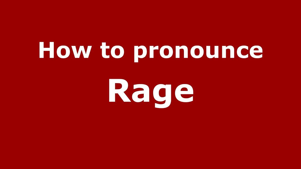 How to pronounce Rage (Brazilian Portuguese/Brazil) - PronounceNames.com