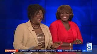 Loretta Devine and Judge Mablean on KTLA