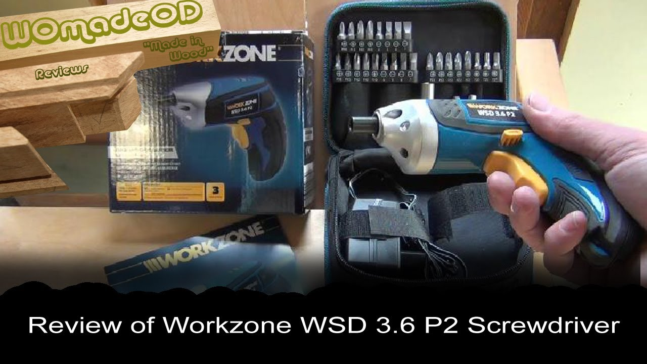 Workzone Wsd 3 6 P2 Power Screwdriver Review Youtube