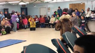 Kotlik Yupik dance Christmas Day