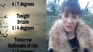 Nev G's London Weather Summary Friday 18th January 2019