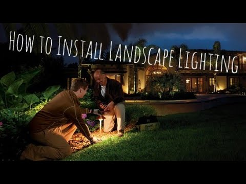 How to install low voltage landscape lighting complete step by how to install low voltage landscape lighting complete step by step video mozeypictures Images
