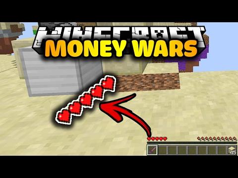 BẠN CHỈ CÓ 5 MÁU ĐỂ SỐNG SÓT   Minecraft MONEY WARS