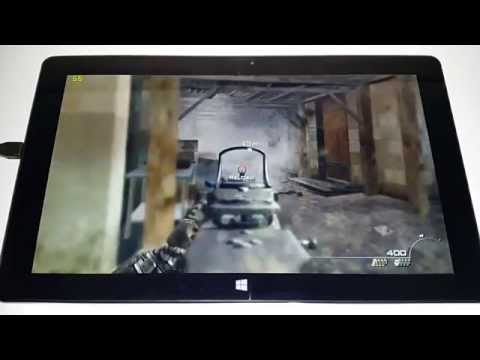 Cube i7 Core M Gaming Part 1: CoD:MW2, CS:GO, TF2 & Wreckfeast
