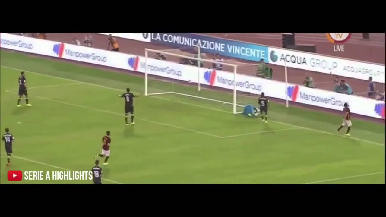 Roma Siviglia 6 4 Gol E Highlights Hd Amichevole 2015