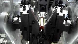 Automatic mixer motor armature coil winding machine rotor winder