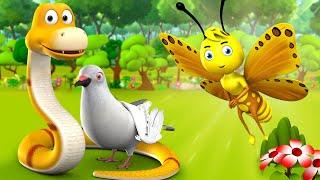 சிறிய பட்டாம்பூச்சி தமிழ் கதை | Small Butterfly Tamil Story - 3D Animated Moral Stories for Kids