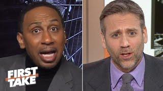First Take gets heated over Patrick Mahomes vs. Tom Brady