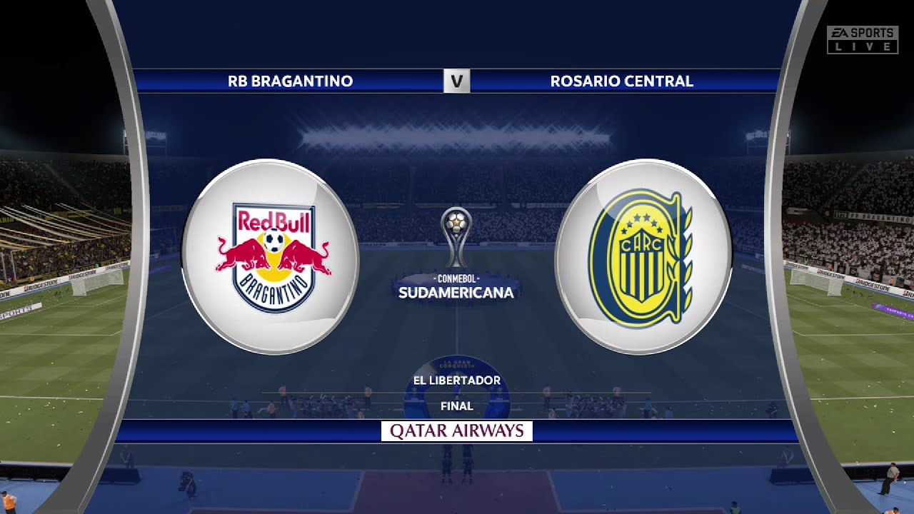 ⚽ RB Bragantino vs Rosario Central ⚽   Copa Sudamericana 20/20/20    Fifa 20