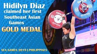 Hidilyn Diaz Sea Games 2019 | Women's 55-kg