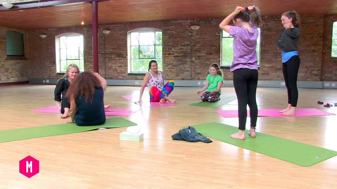 Modern Classroom Yoga ~ Family yoga class to years old jo manuel online
