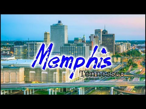 Memphis Tennessee Downtown Drive Through Tour