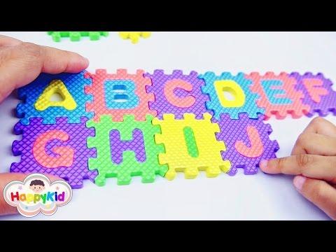 ต่อจิ๊กซอว์ ABC กับโจเซฟ | เรียนรู้ ABC สำหรับเด็ก | เล่นตัวต่อภาษาอังกฤษ A-Z