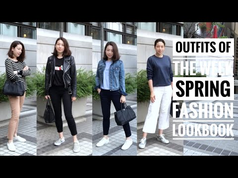 OUTFITS OF THE WEEK | SPRING FASHION LOOKBOOK