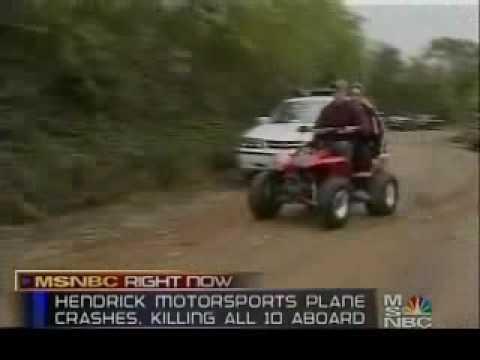 NBC News Reports: Hendrick Plane Crash