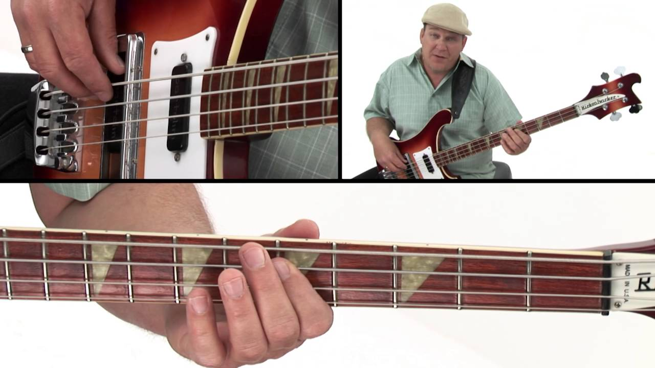 Download 30 Beginner Bass Grooves - Tight 8th notes - Andy Irvine
