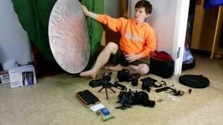 Обзор фото-видео оборудования, взятого в поход на перевал Дятлова и плато Маньпупунер(Показываю фото-видео оборудование, что я использовал в походе. Множество другого оборудования было у други..., 2015-04-02T07:30:00.000Z)