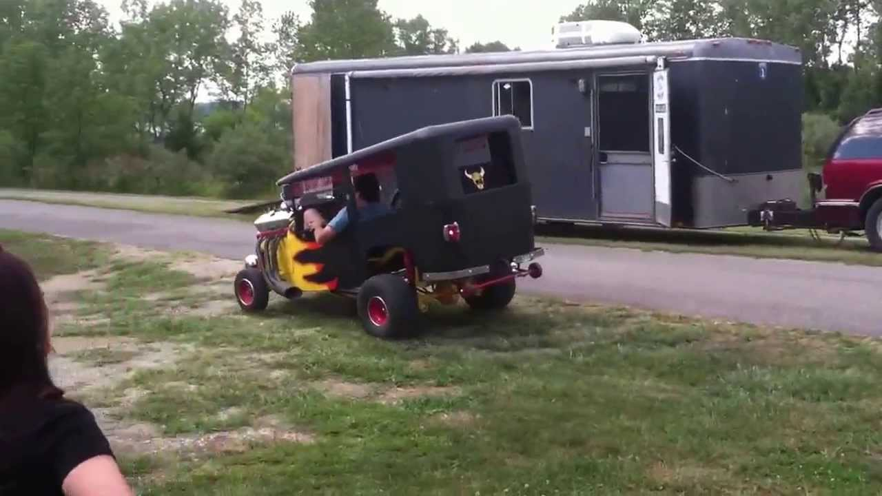 Electric Rat Rod Wheelie By Dr Rus S Custom Carts