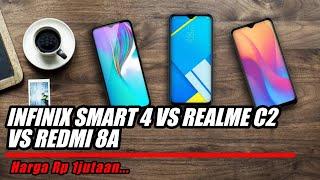 Harga 1 jutaan... Infinix smart 4 vs realme c2 vs redmi 8a manakah yang lebih sadis....?