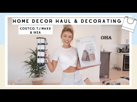 Home Decor Haul & Decorating Around The House | Moving To Hawaii
