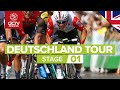 Deutschland Tour 2019 Stage 1 Highlights: Hannover - Halberstadt | GCN Racing
