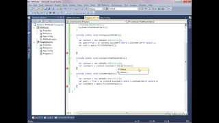 Linq To Entities Using C# in window form application.