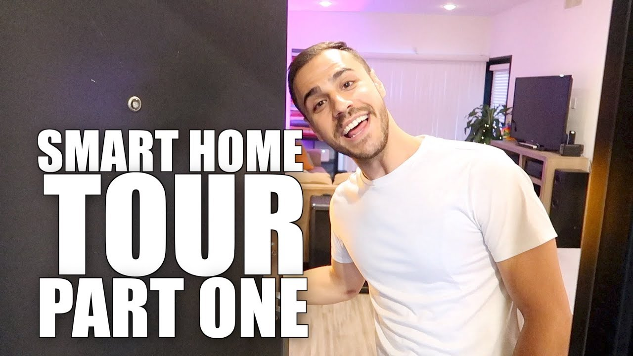 smart home tour youtube. Black Bedroom Furniture Sets. Home Design Ideas