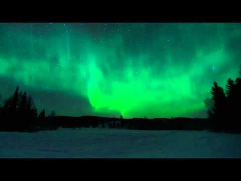 Time lapse - Aurora Borealis January 2012