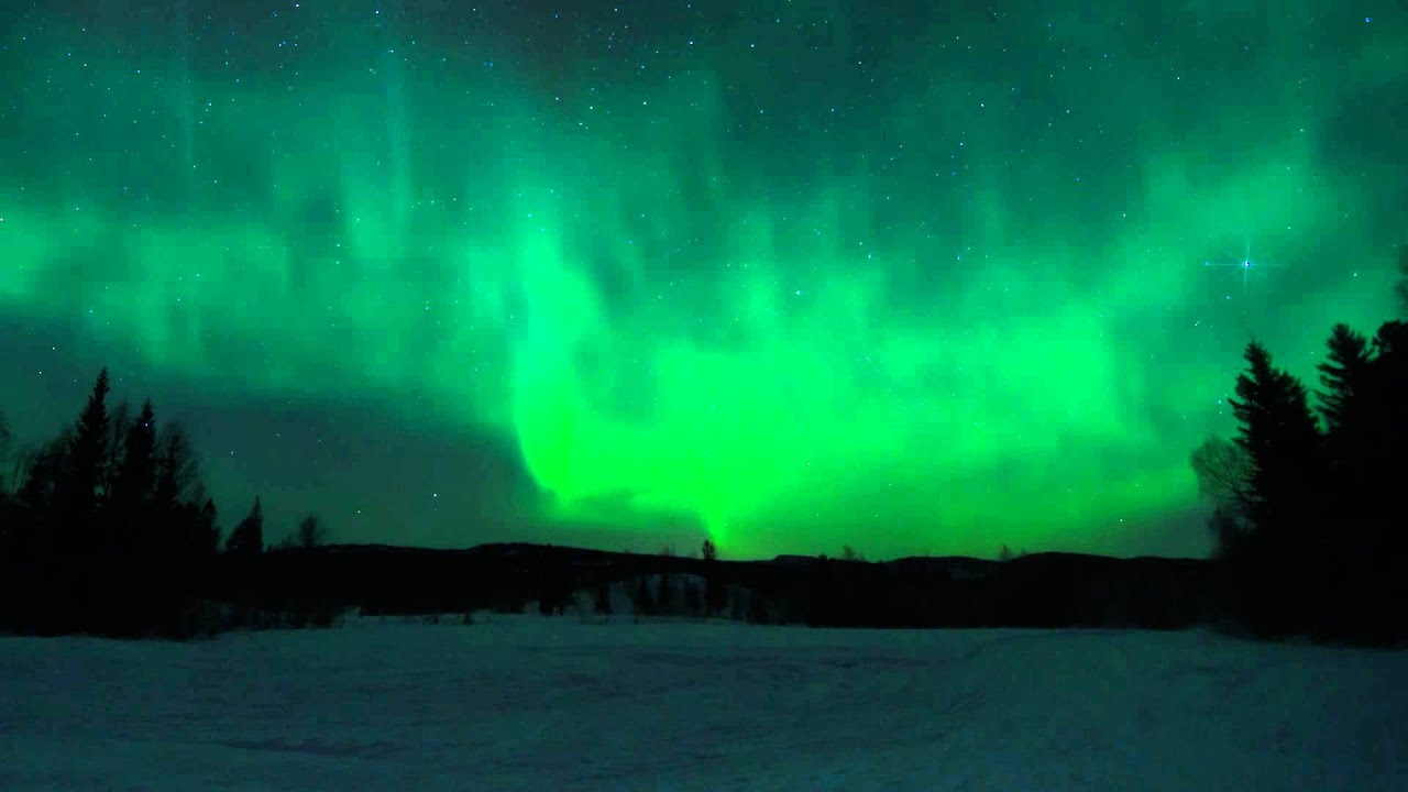 Time lapse - Aurora Borealis January 2012