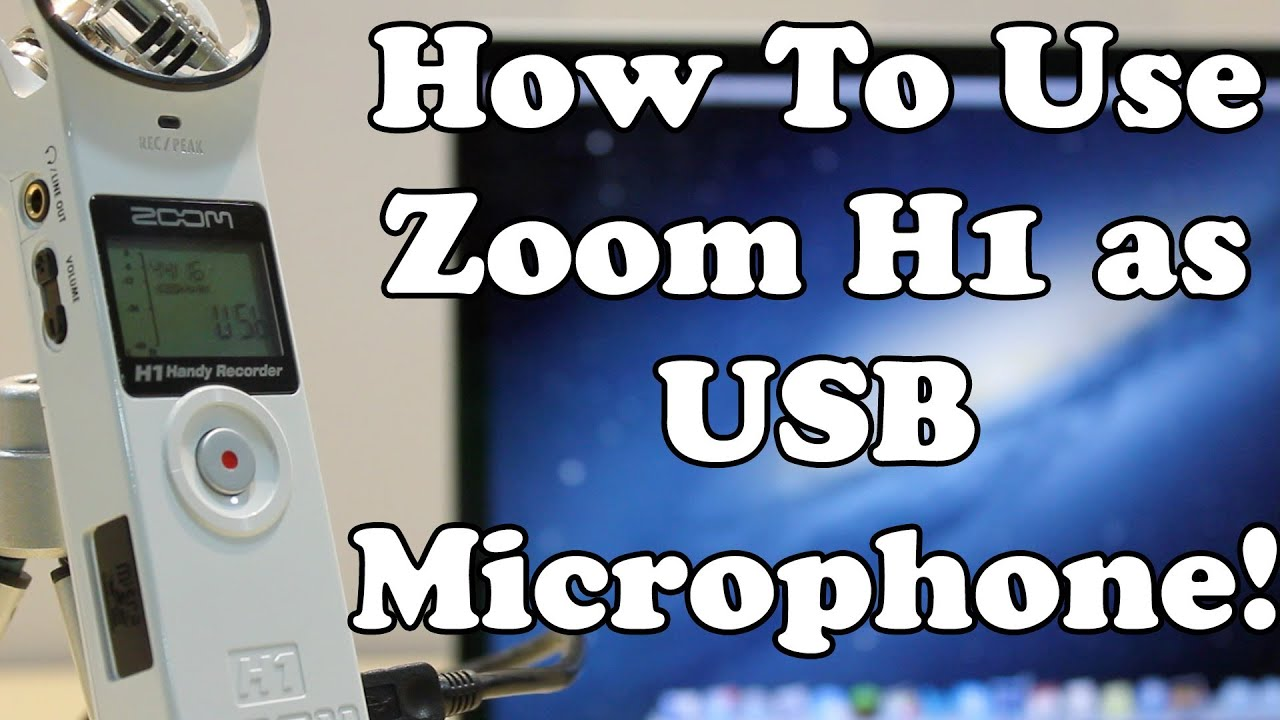 ZOOM H1 USB DRIVER UPDATE