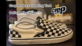 How To Clean Vans With Crep Protect | Does Crep Really Works