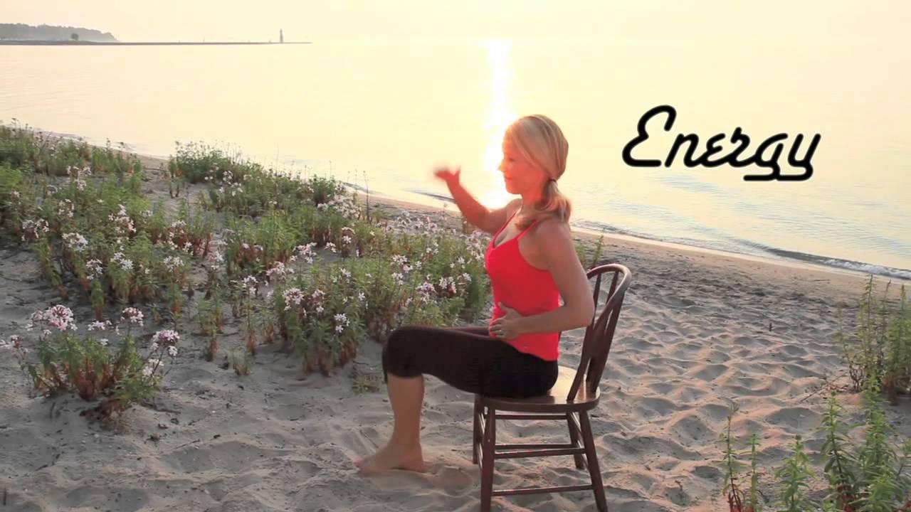 Happy Yoga with Sarah Starr Sunrise Chair Yoga DVD  YouTube