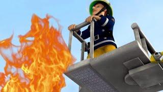 Sam el Bombero Español 🌟Techo en llamas | Compilación divertida 🔥Dibujos animados