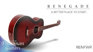 Renegade Series - RENFWR Overview - Freshman Guitars