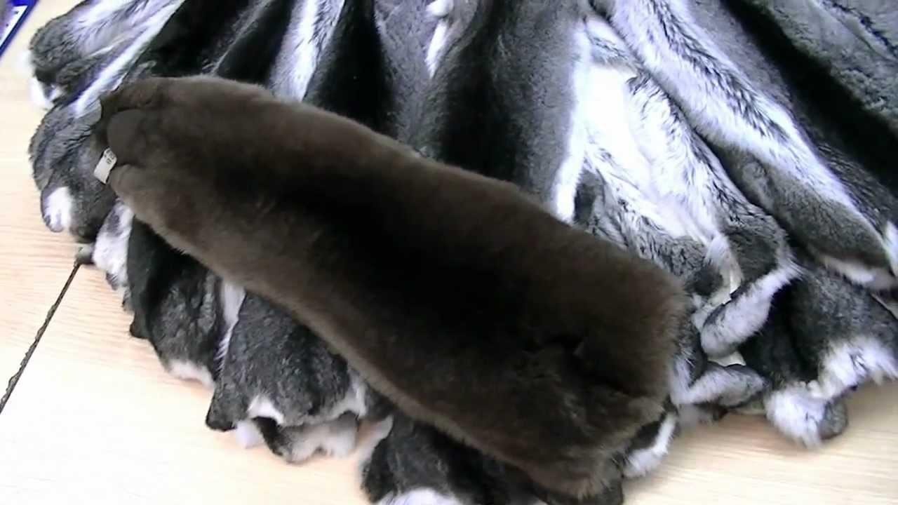 Шуба из бобра 1335 Кз Цвет черный | Меховая фабрика