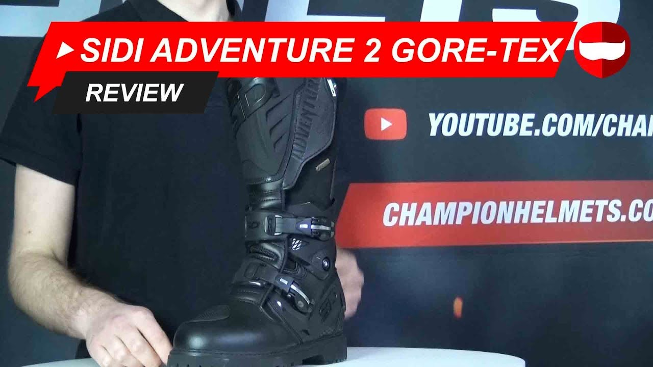 SIDI Adventure 2 Gore Tex Adventure Boot Review