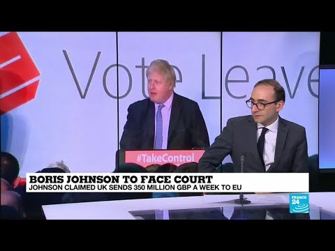 Boris Johnson to face Court: What is the 'Brexit Justice' campaign?