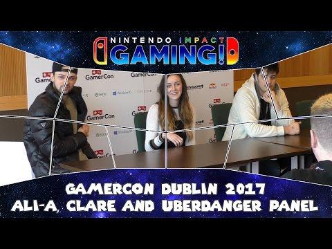 GamerCon Dublin 2017 - Ali-A, Clare Siobhan & UberDanger Panel