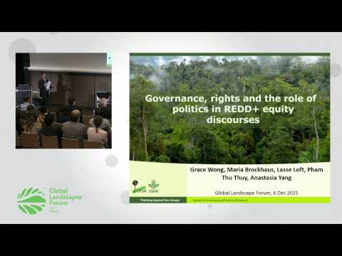 Strengthening land and resource rights through REDD+ GLF 2015