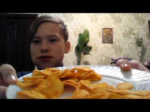 100 чипсов за 2 минуты!?!?!?!?!?!?