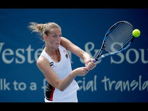 2016 Western and Southern Open Semifinals | Karolina Pliskova vs Garbine Muguruza | WTA Highlights