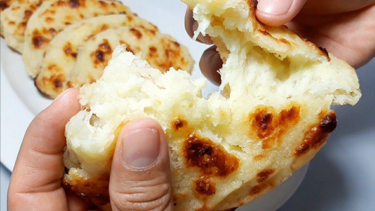 Pan y empanada de arroz - Receta Boliviana - Sin gluten - YouTube