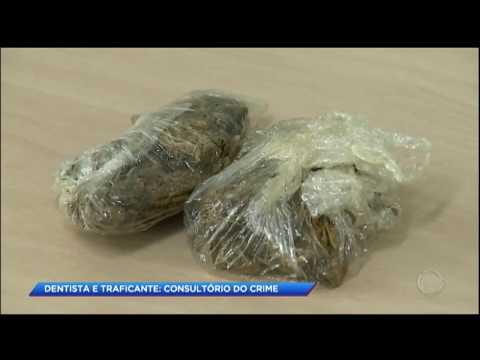 Dentista é preso por vender drogas no consultório
