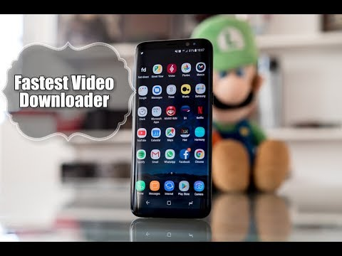 Fastest Video Downloading App For Free!!