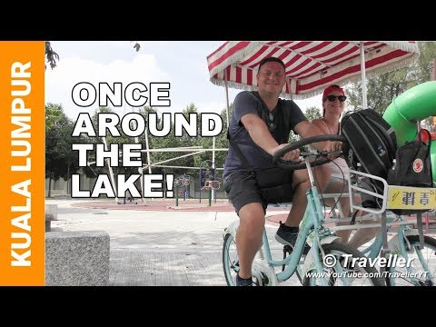 Kuala Lumpur Attractions - Renting Bicycles like the locals at Titiwangsa Lake Gardens